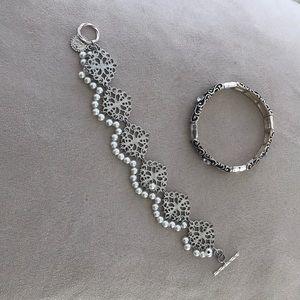 Set of TWO bracelets